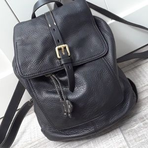 COLE HAAN..VINTAGE LEATHER BACKPACK